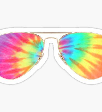 tie dye sunglasses  Sticker