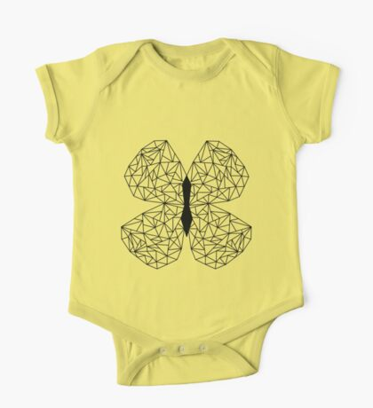 Butterflies Flutter By One Piece - Short Sleeve