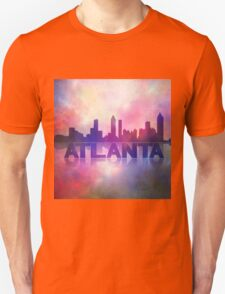 Atlanta city skyline Unisex T-Shirt