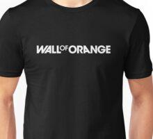 Wall Of Orange Logo (Reversed) Unisex T-Shirt