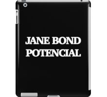 Gillian Anderson as James Bond Series iPad Case/Skin