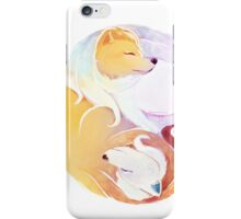 duality -- ninetales iPhone Case/Skin