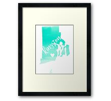 Kingston Framed Print