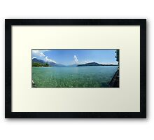Lake Annecy from the West Side Framed Print