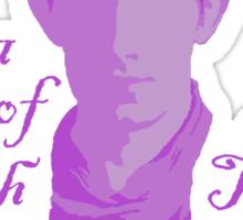 Merlin Myth - purple Sticker