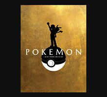 Pokemon-Hamilton Mashup! (Gold Background) Unisex T-Shirt