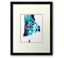 University of Rhode Island Framed Print