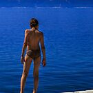 The boy and the deep blue sea by ThisMoment