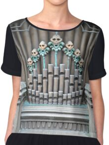 Haunted Mansion Organ Chiffon Top