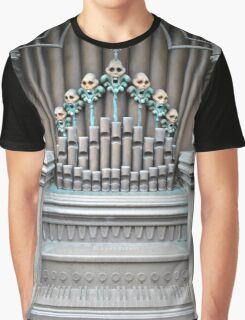 Haunted Mansion Organ Graphic T-Shirt