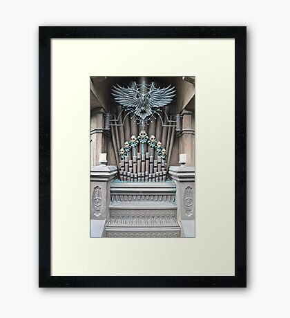 Haunted Mansion Organ Framed Print
