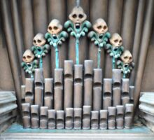 Haunted Mansion Organ Sticker