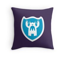 monster logo Throw Pillow