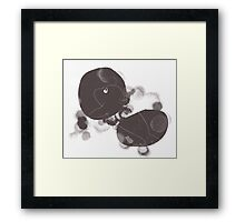 It's Sealy Being Lost In Space Framed Print