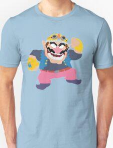 Simplistic Wario Super Smash Bros  Unisex T-Shirt