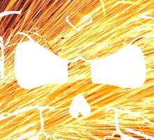 Welding sparks skull Sticker