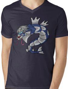 GYARRUSDOS Mens V-Neck T-Shirt