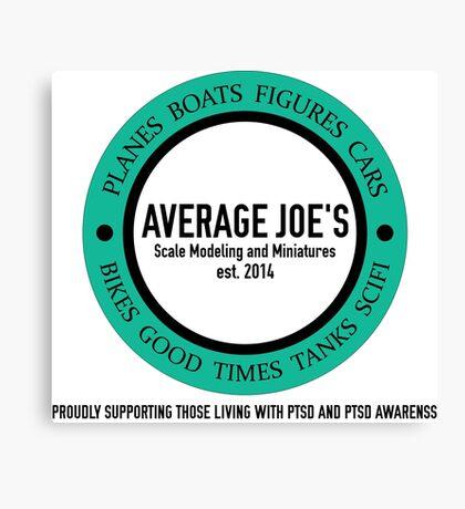Average Joe's Scale models and miniatures PTSD Canvas Print