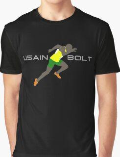 USAIN BOLT SPRINT Graphic T-Shirt