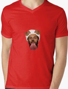 Osama Bin Puppy  Mens V-Neck T-Shirt