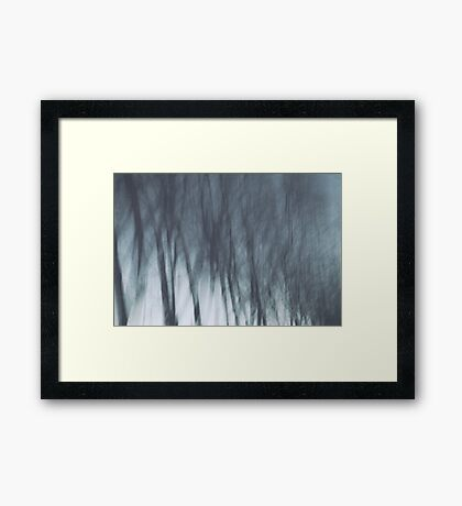 up to the sky Framed Print