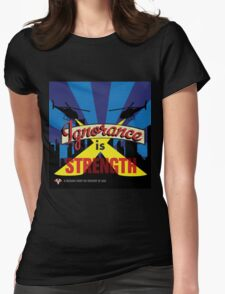 Ignorance Is Strength 1984 George Orwell Womens Fitted T-Shirt