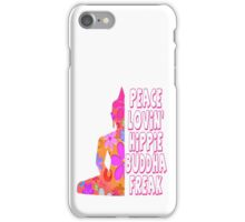 Buddha Peace Lovin' Hippie iPhone Case/Skin