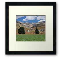 Castle Hill Framed Print