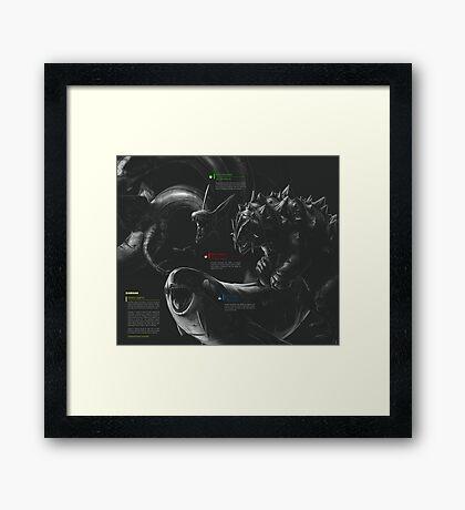 Weather Trio  - Minimal Framed Print