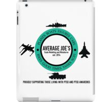 Average Joe's Scale models and miniatures PTSD vehicles iPad Case/Skin