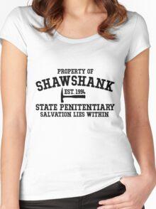 Shawshank State Penitentiary - Shawshank Redemption  Women's Fitted Scoop T-Shirt