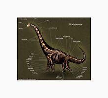 Brachiosaurus Skeleton Study Unisex T-Shirt