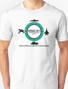 Average Joe's Scale models and miniatures PTSD vehicles Unisex T-Shirt