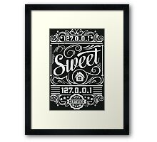Home Sweet Home - Geek Talk Framed Print