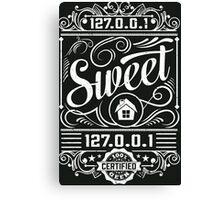 Home Sweet Home - Geek Talk Canvas Print