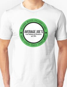 Average Joe's Scale models and miniatures Unisex T-Shirt