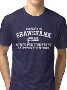 Shawshank State Penitentiary - Shawshank Redemption  Tri-blend T-Shirt