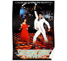 It's Saturday Night Fever, It's Disco Time !! Poster