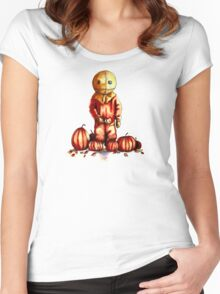 Trick R Treat Sam Women's Fitted Scoop T-Shirt
