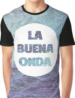 La Buena Onda (Good Vibes) Graphic T-Shirt