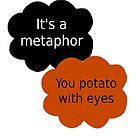 "Orange is the New Black - ""It's a metaphor"" by Leanne Egan"
