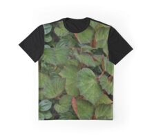 Lush Large Leaf Begonia  Graphic T-Shirt