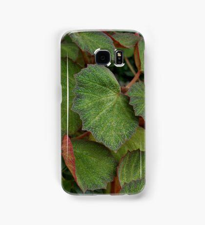 Lush Large Leaf Begonia  Samsung Galaxy Case/Skin