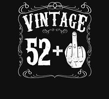 Vintage middle finger salute 53rd birthday gift funny 53 birthday 1963 Unisex T-Shirt