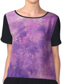 Purple Haze Chiffon Top