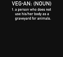 Vegan Humor 'Graveyard' Unisex T-Shirt