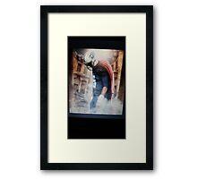 Mariota superman Framed Print