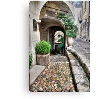 St Paul De Vence  #1, France - The France Collection Canvas Print