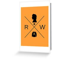 Hipster Potter Pals - Ron Greeting Card