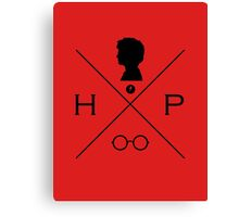 Hipster Potter Pals - Harry Canvas Print